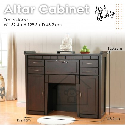 ALTAR CABINET TABLE / FULL SOLD HIGH QUALITY