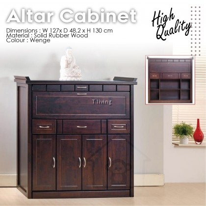ALTAR CABINET TABLE / FULL SOLID / HIGH QUALITY