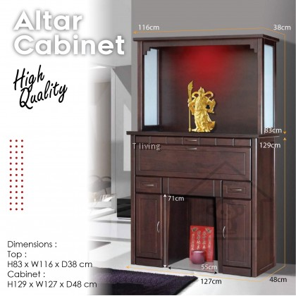 ALTAR CABINET / WITH TOP HIGH QUALITY / 神台